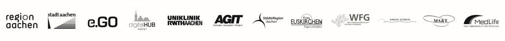 Logoband aller Partner