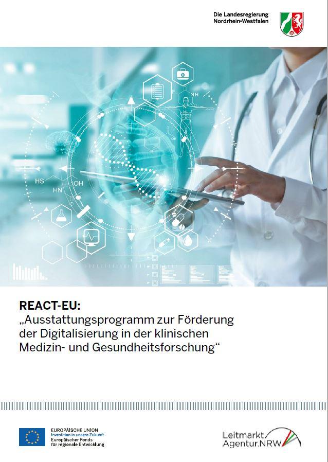 REACT-EU Digitalsisierung in der Medizin